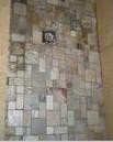 Shower mosaic floor tile